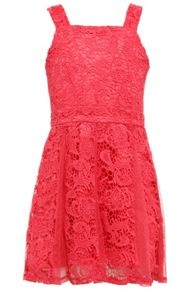 Bardot Junior Girls Pink Lace Panelled Mia Dress