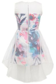 Bardot Junior Girls Floral Digital Print Overlay Print Dress