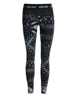Spliced full length leggings