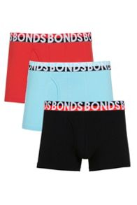 Bonds Mens 3 Pack Trunk