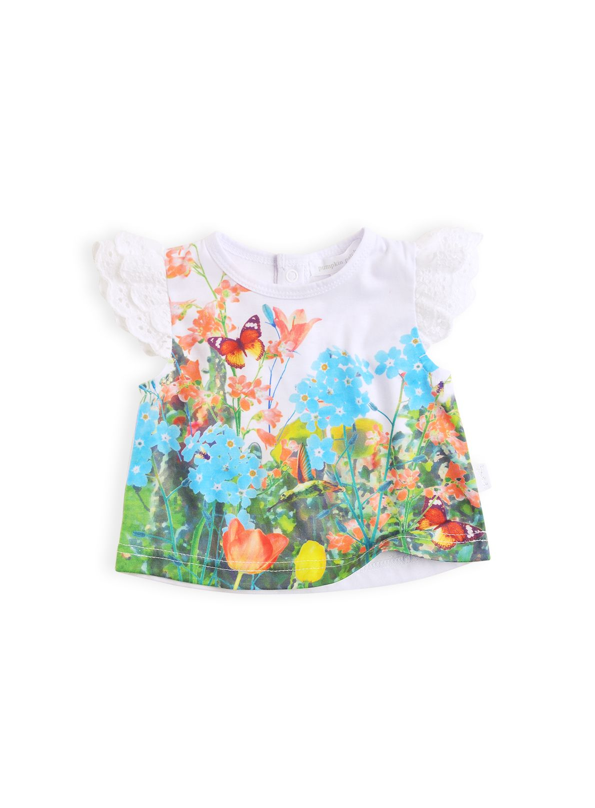 Girls photo print top
