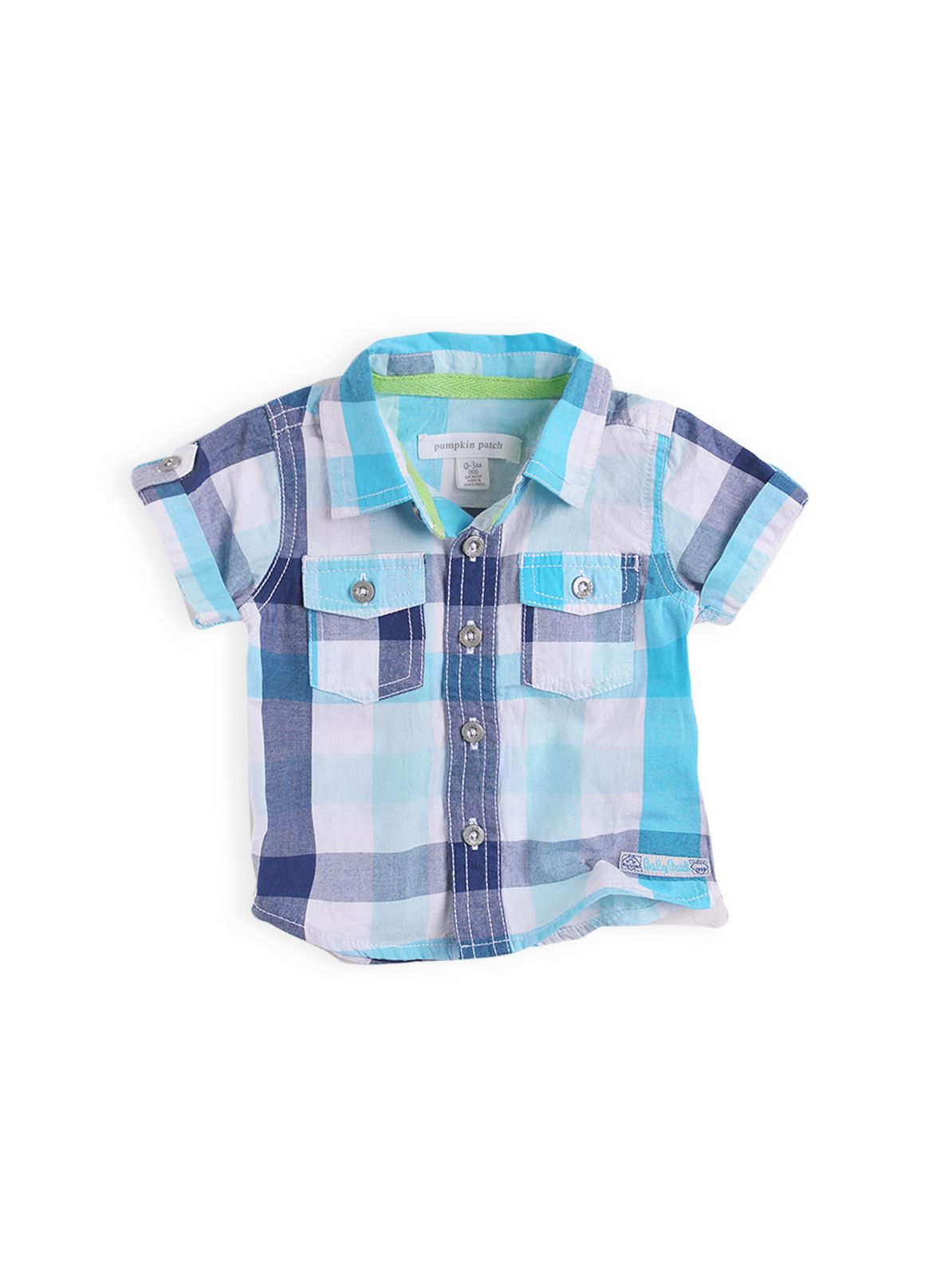 Boys short sleeve cotton shirt
