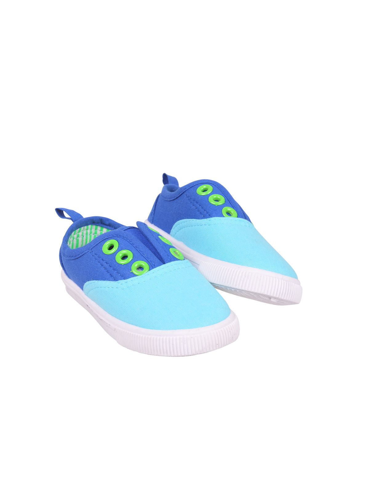 Boys surfin laceless trainers