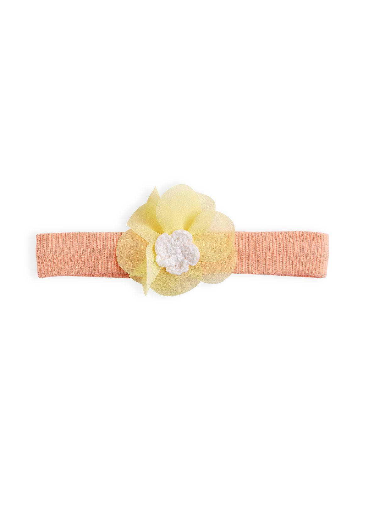 Girls flutter flower headband