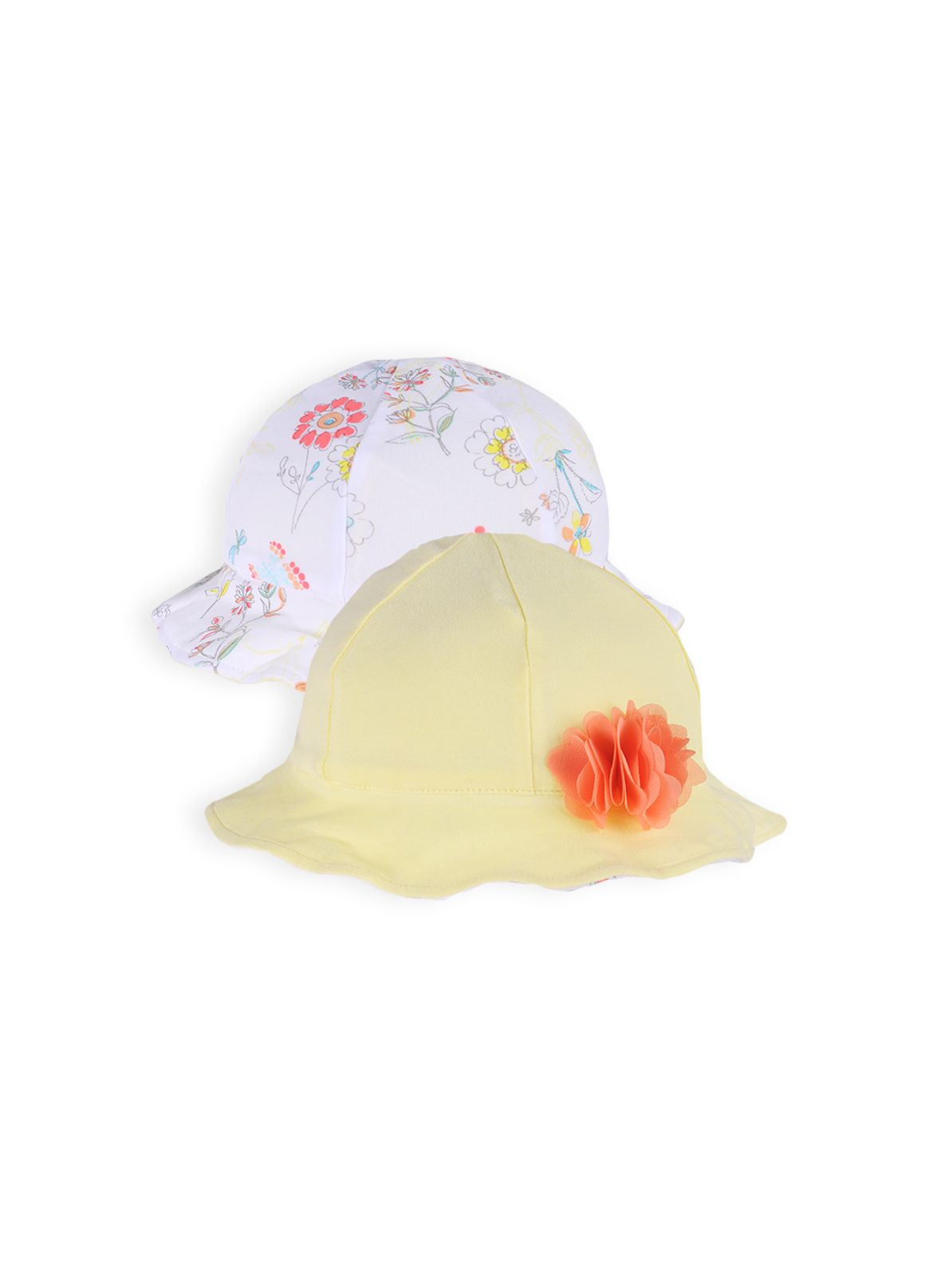 Girls reversible sunhat