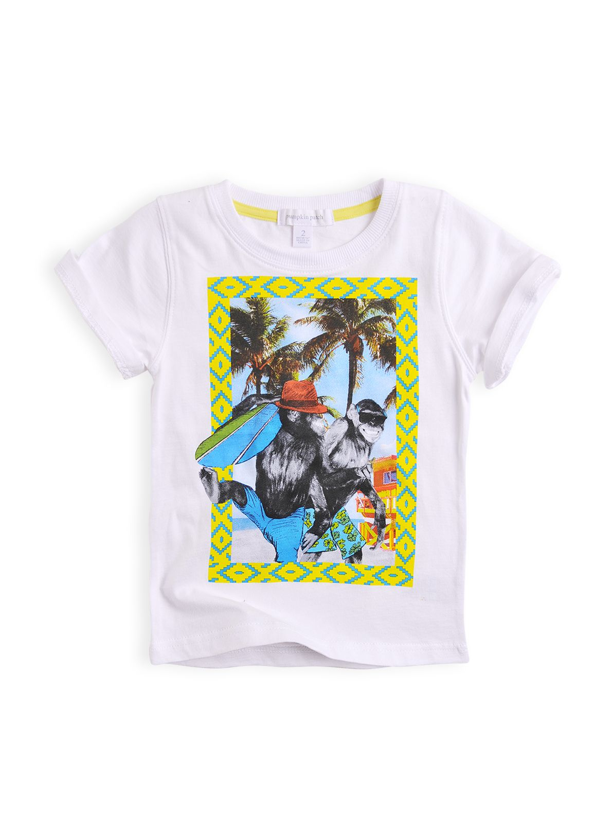Boys printed short sleeve t-shirt