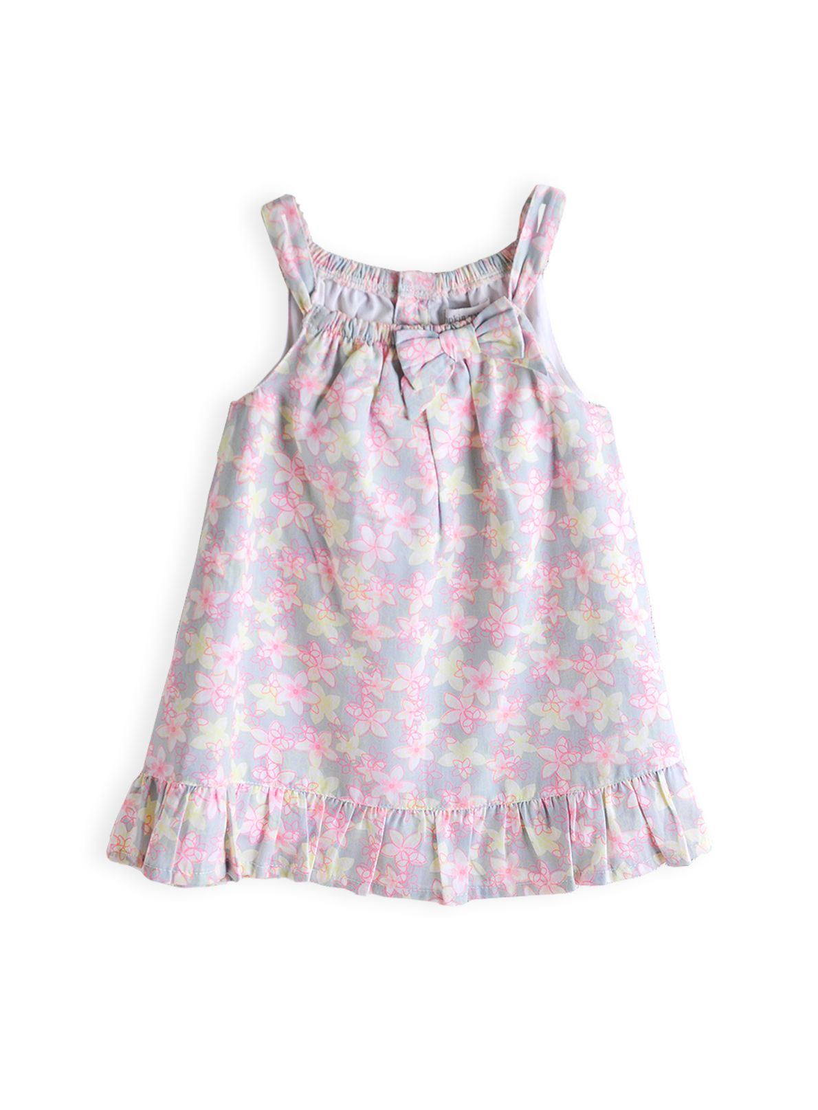 Girls frangapani sketch dress