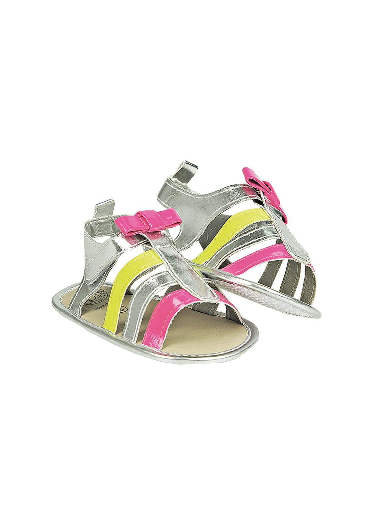 Baby girls bow pop sandal