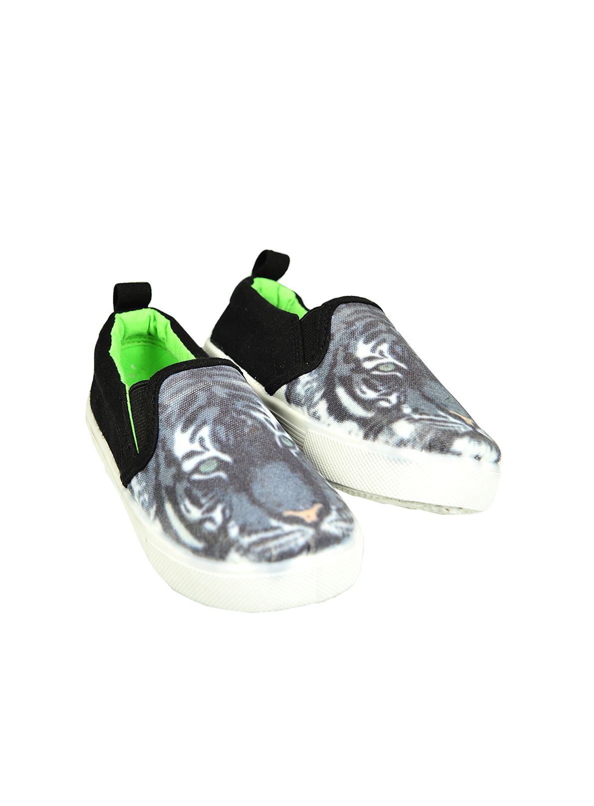 Boys tiger slip on shoe
