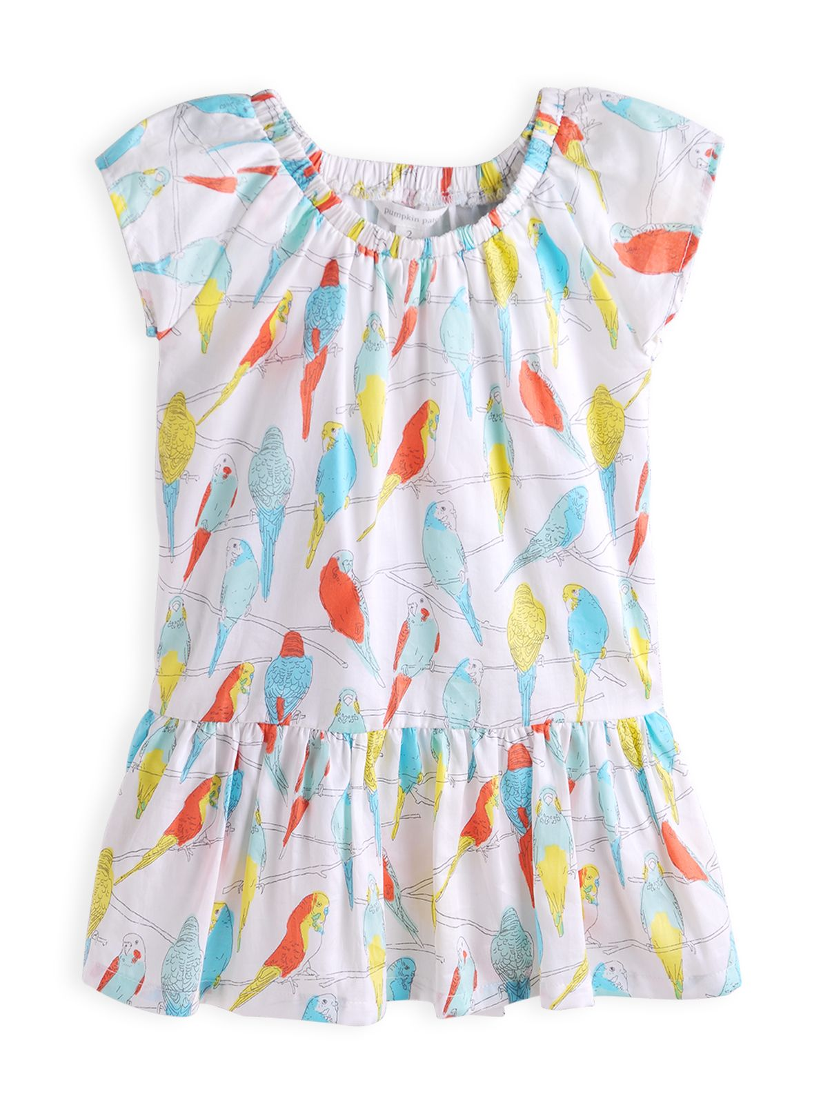 Girls sparrow print dress