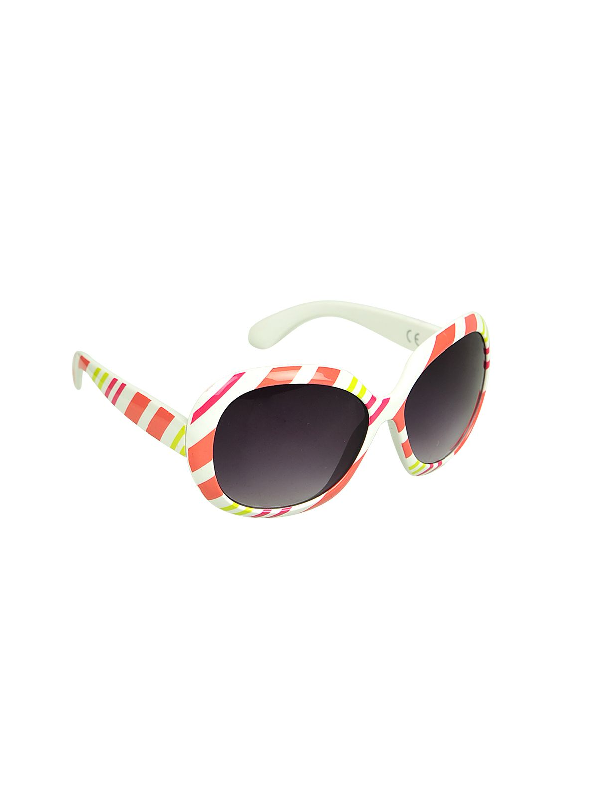 Girls miami stripe sunglasses