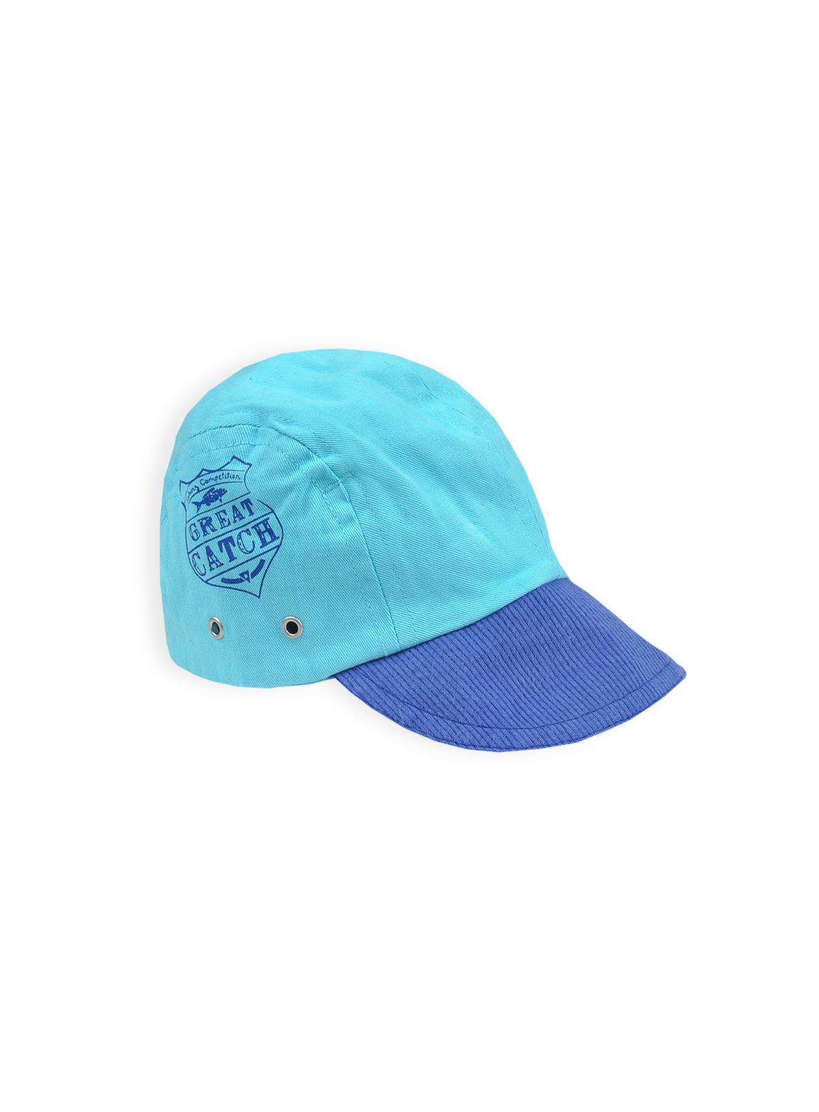 Boys canvas cap with print