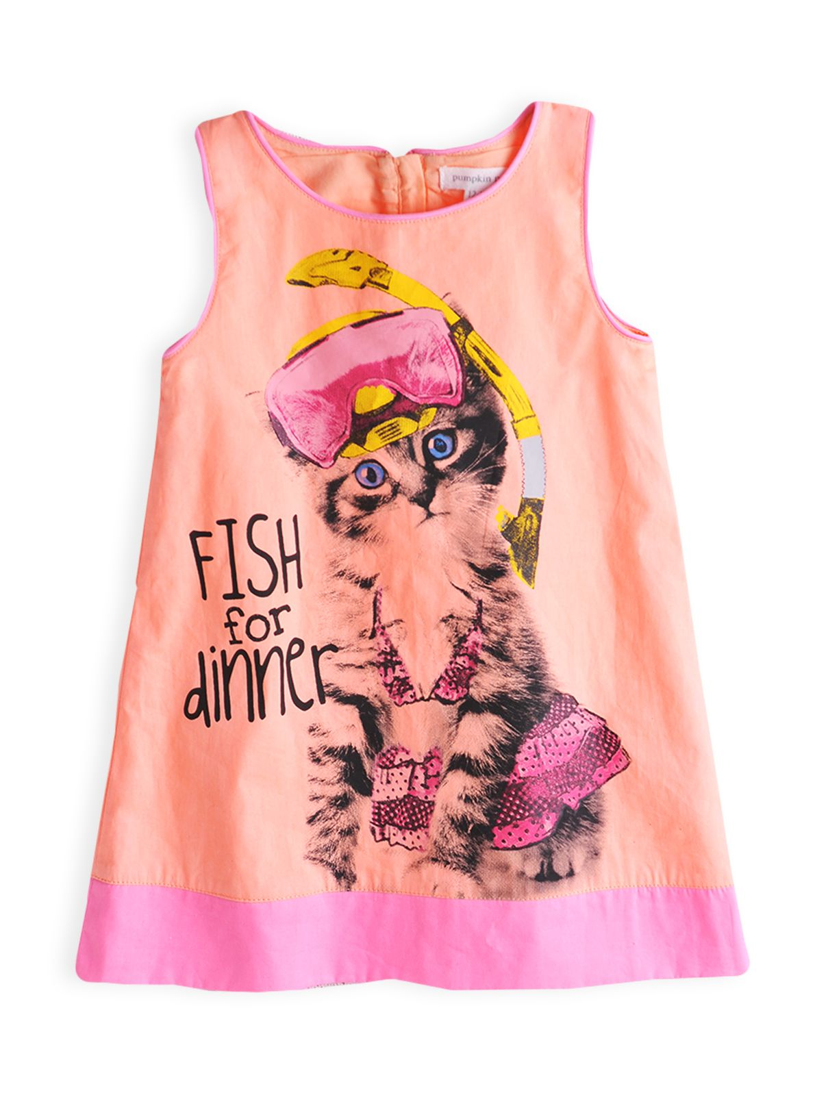 Girls kitty snorkelling dress
