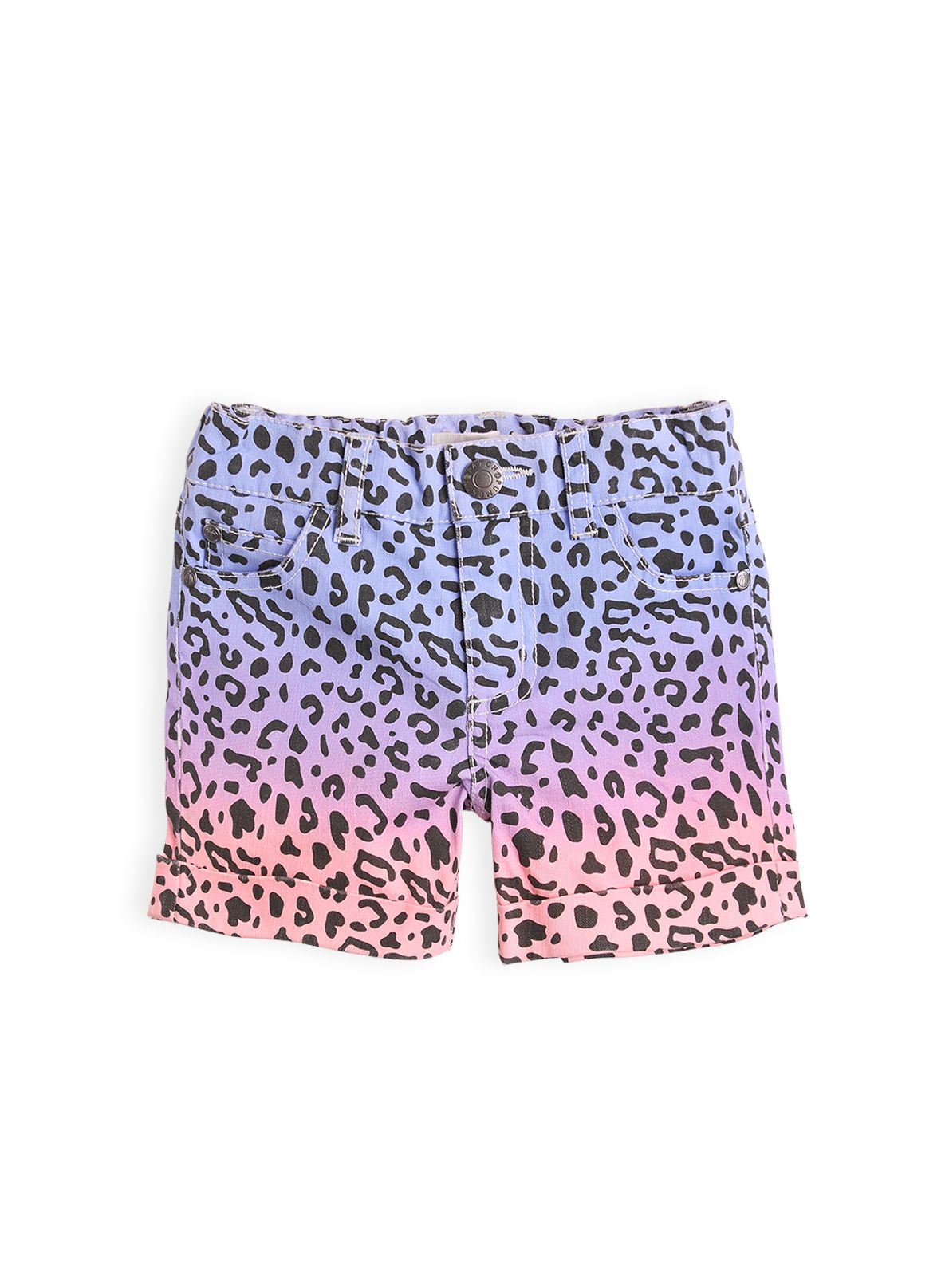Girls animal print short