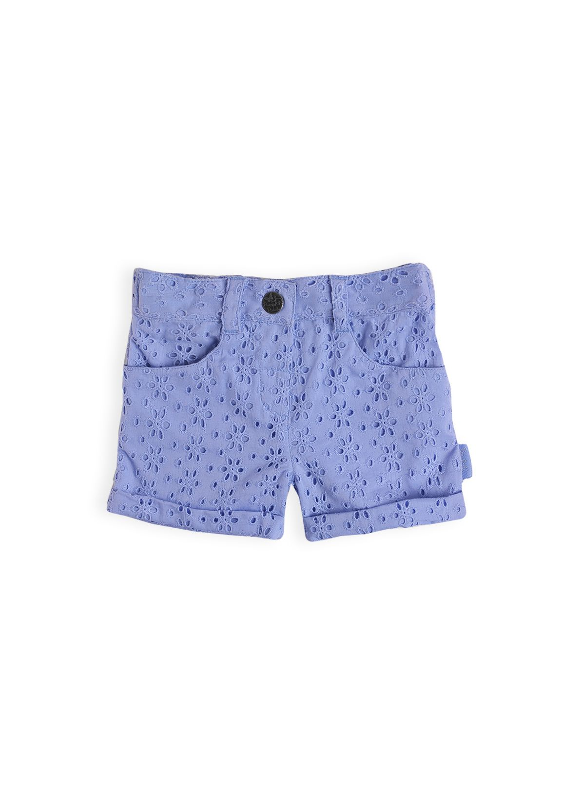 Girls broiderie shorts