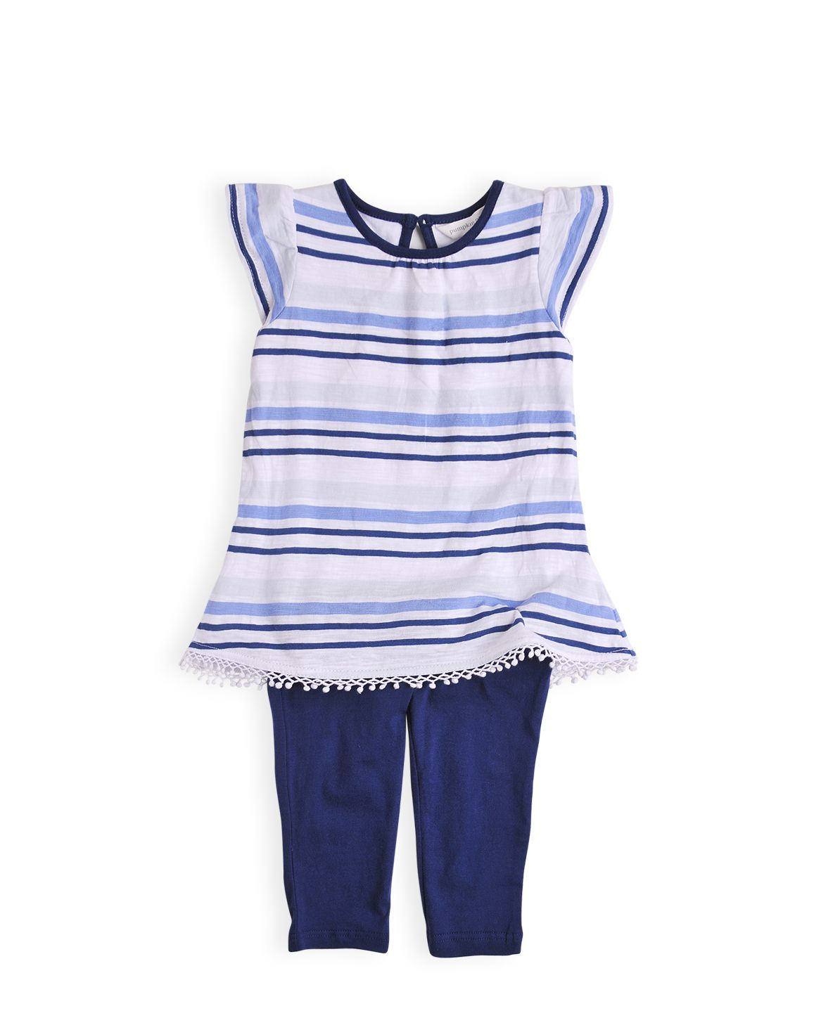Girls stripe set