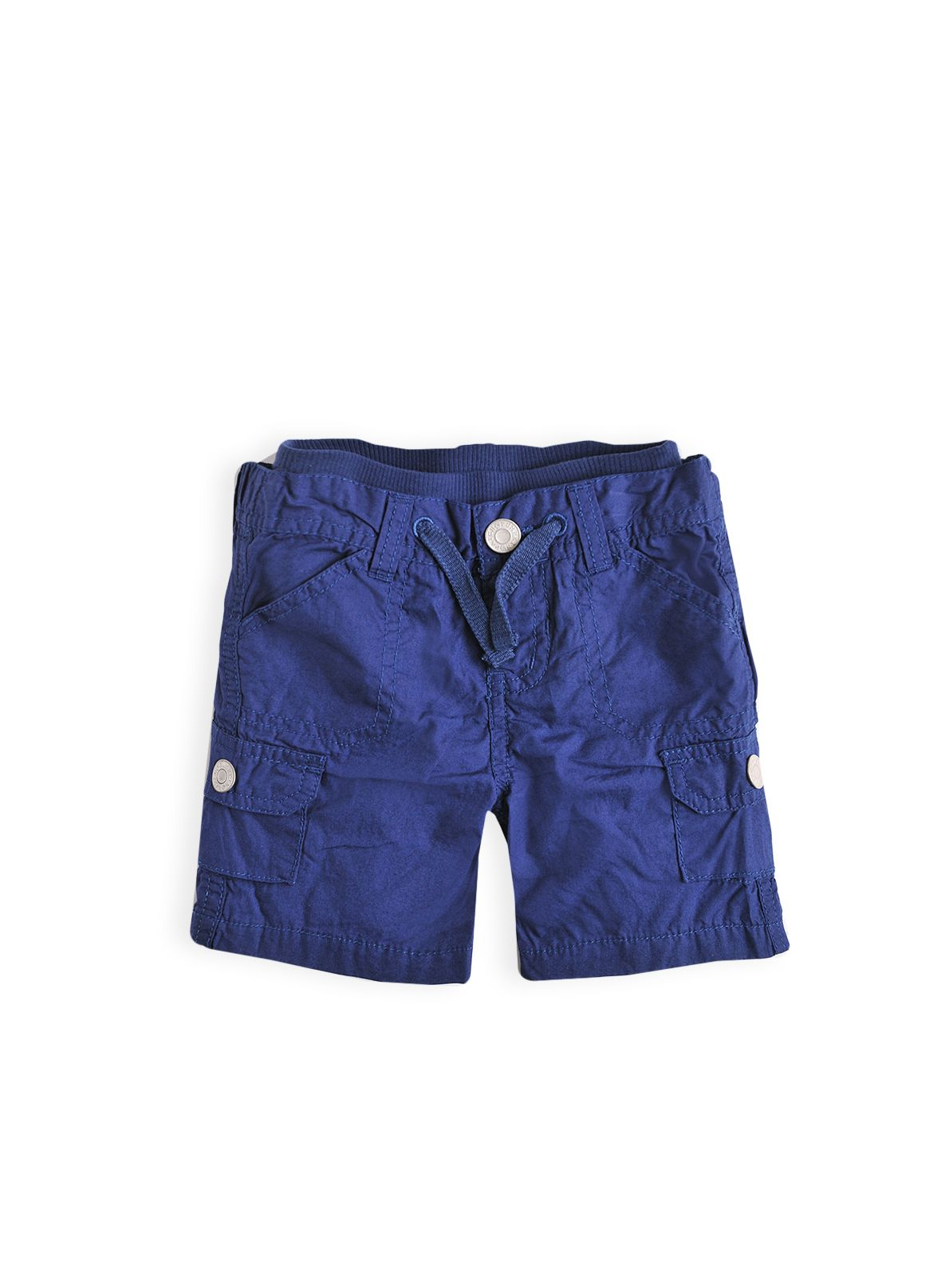 Boys ribbed waist cargo short