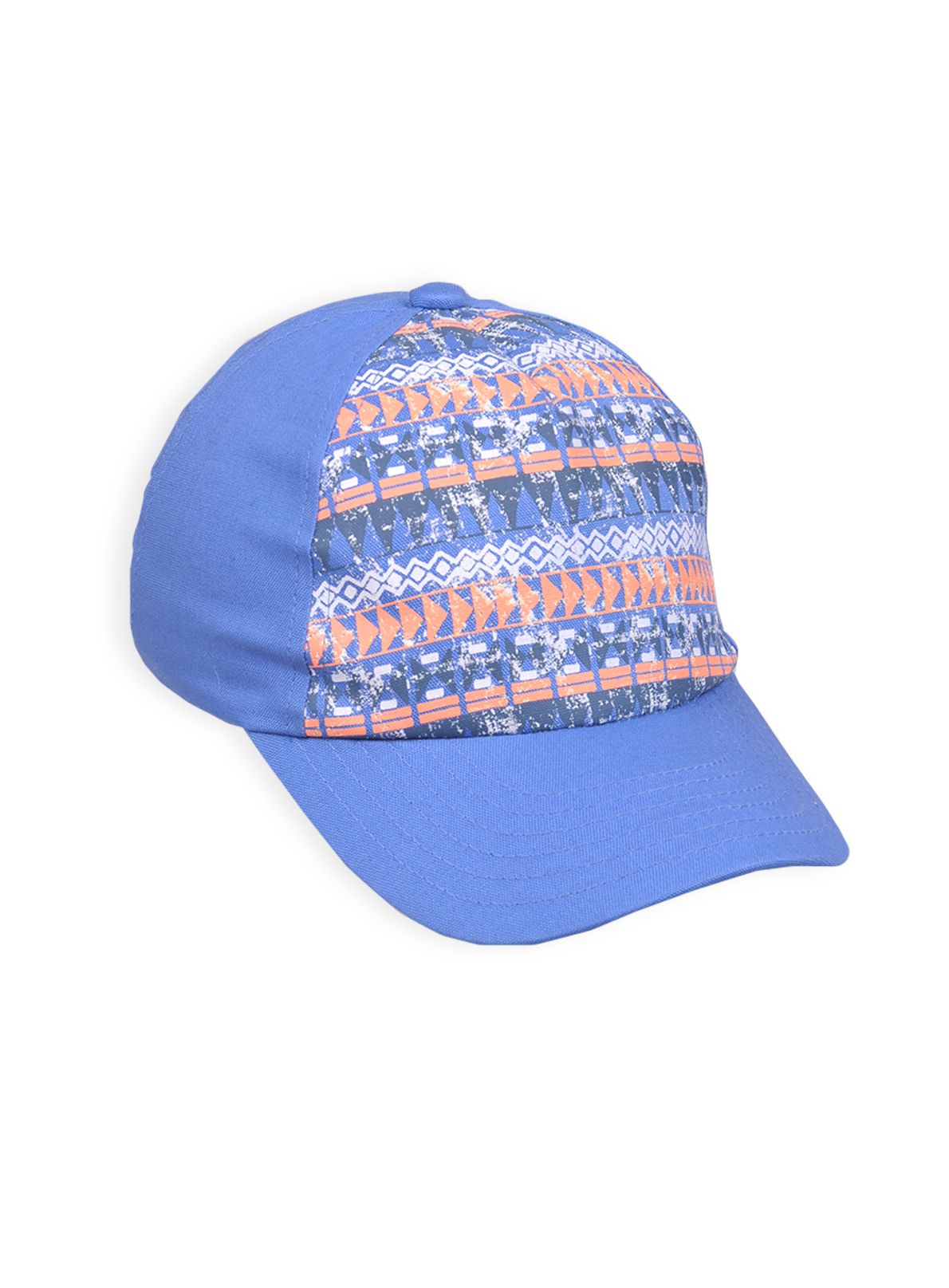 Boys distreshort sleeveed printed cap