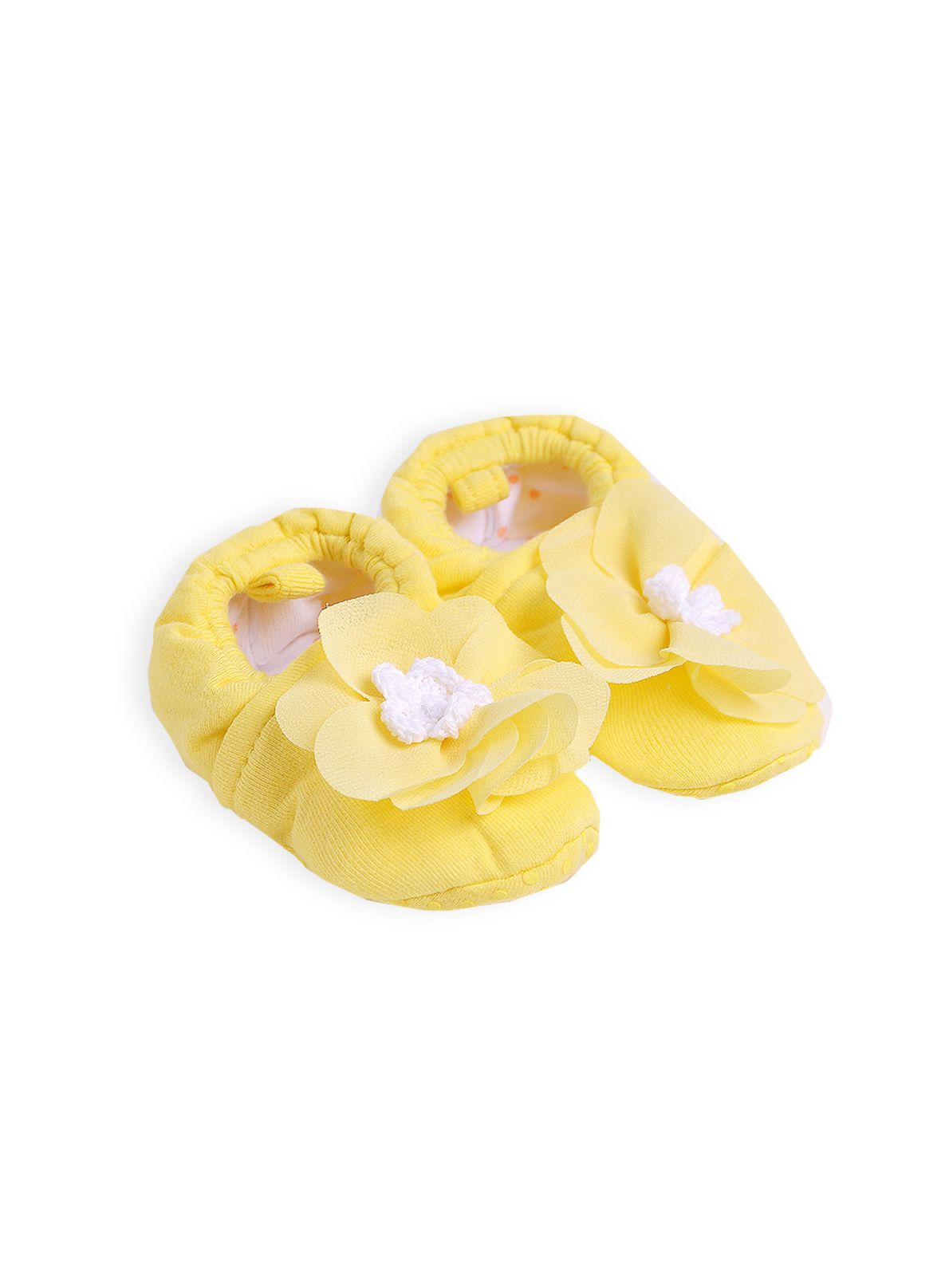 Girls flutter flower booties