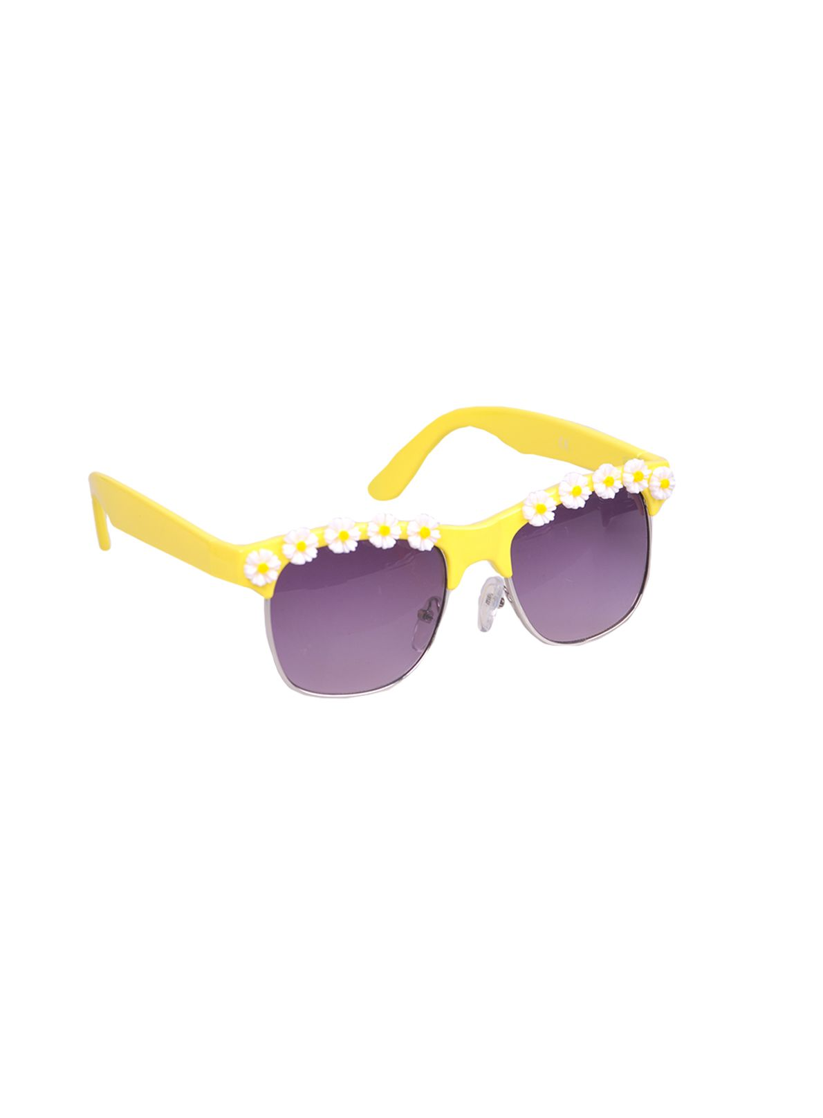 Girls daisy frame sunglasses