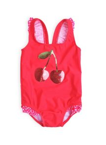 Baby girls cherry sparkle swimming costume