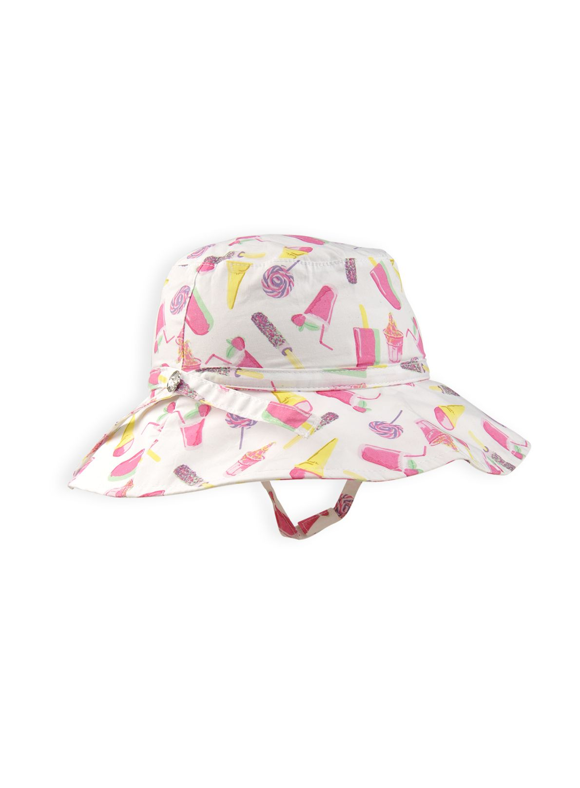 Girls ice cream party sun hat