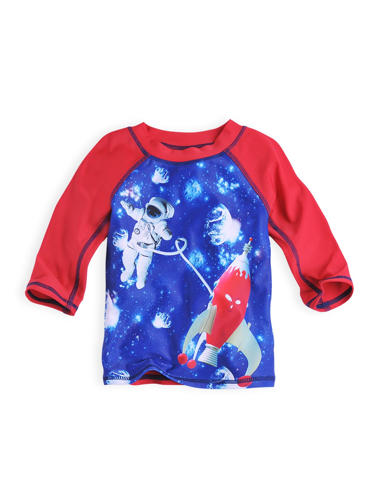 Baby boys rocket rash top