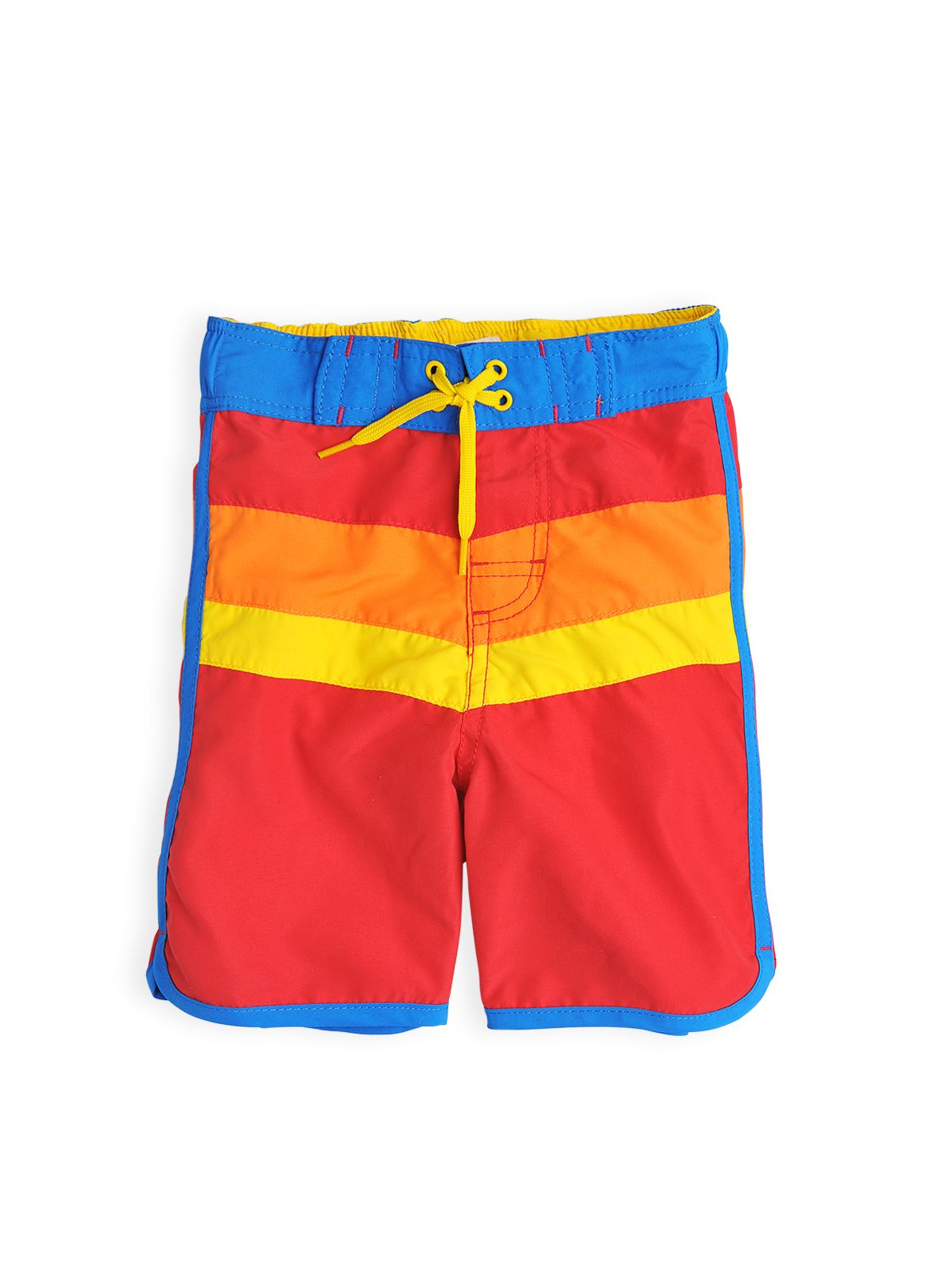 Boys retro stripe board shorts