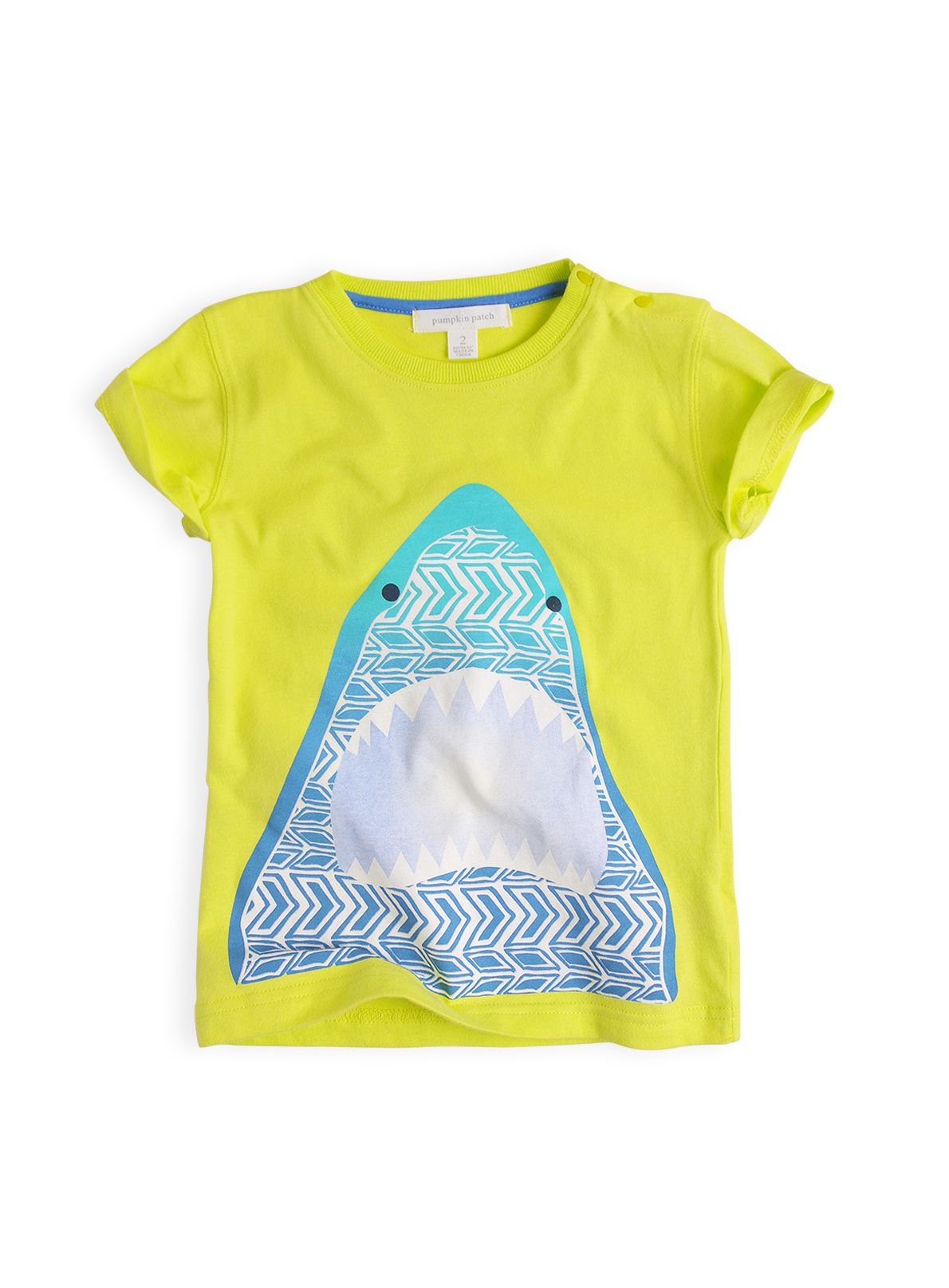 Boys Aztec shark t-shirt