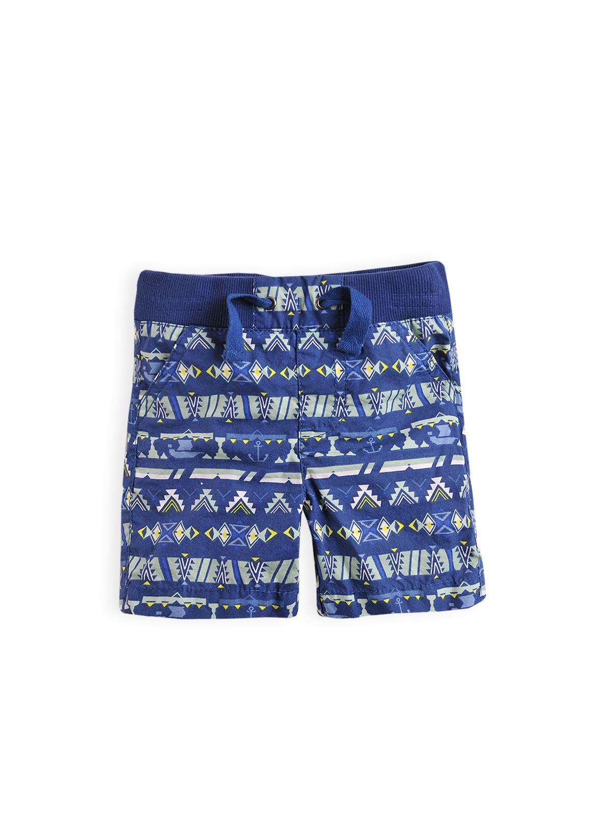 Boys Aztec print shorts