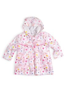 Girls unicorn raincoat