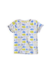 Boys short sleeve all over printed t-shirt
