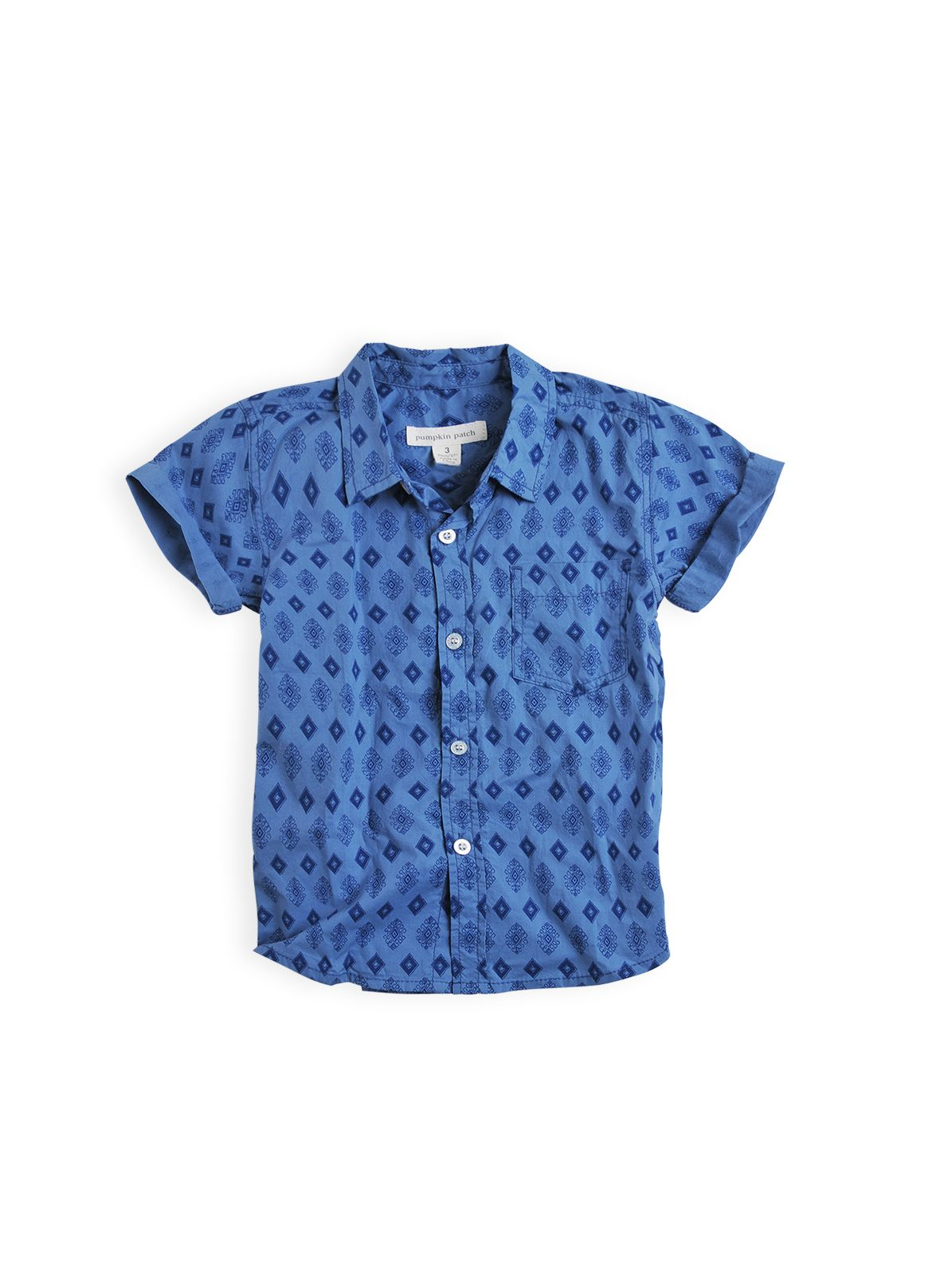 Boys  all over print shirt