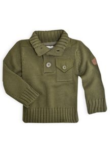 Boys aviator knit sweater