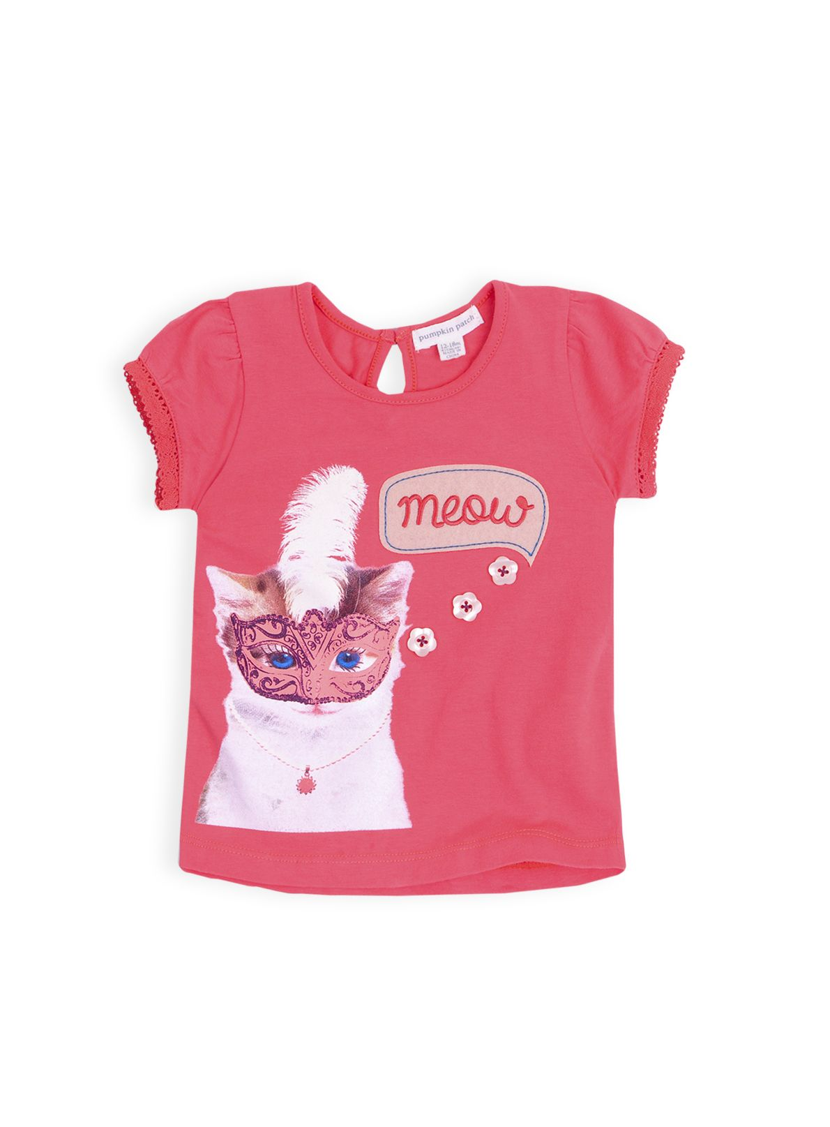 Girls cat top