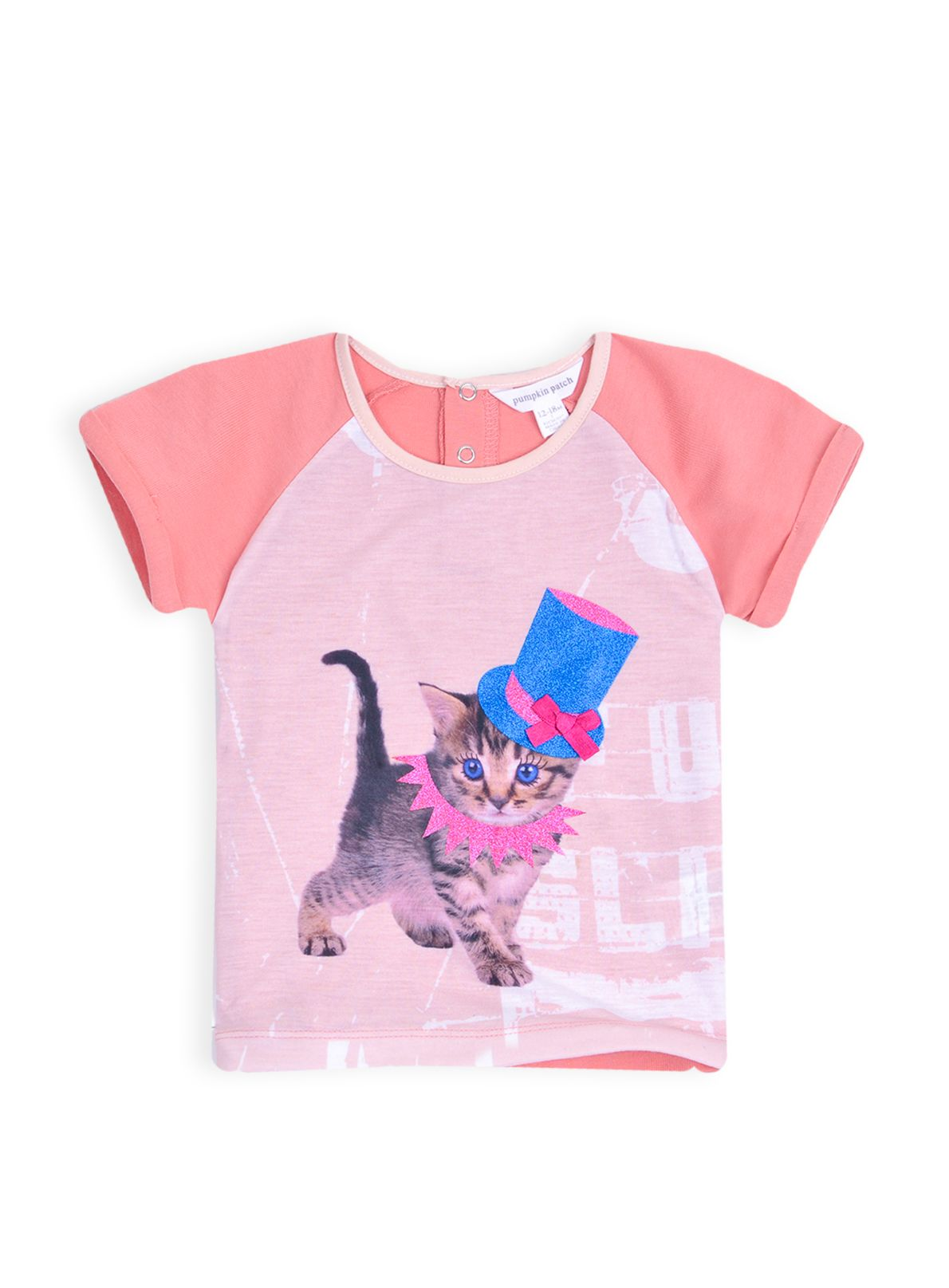 Girls raglan carousel top