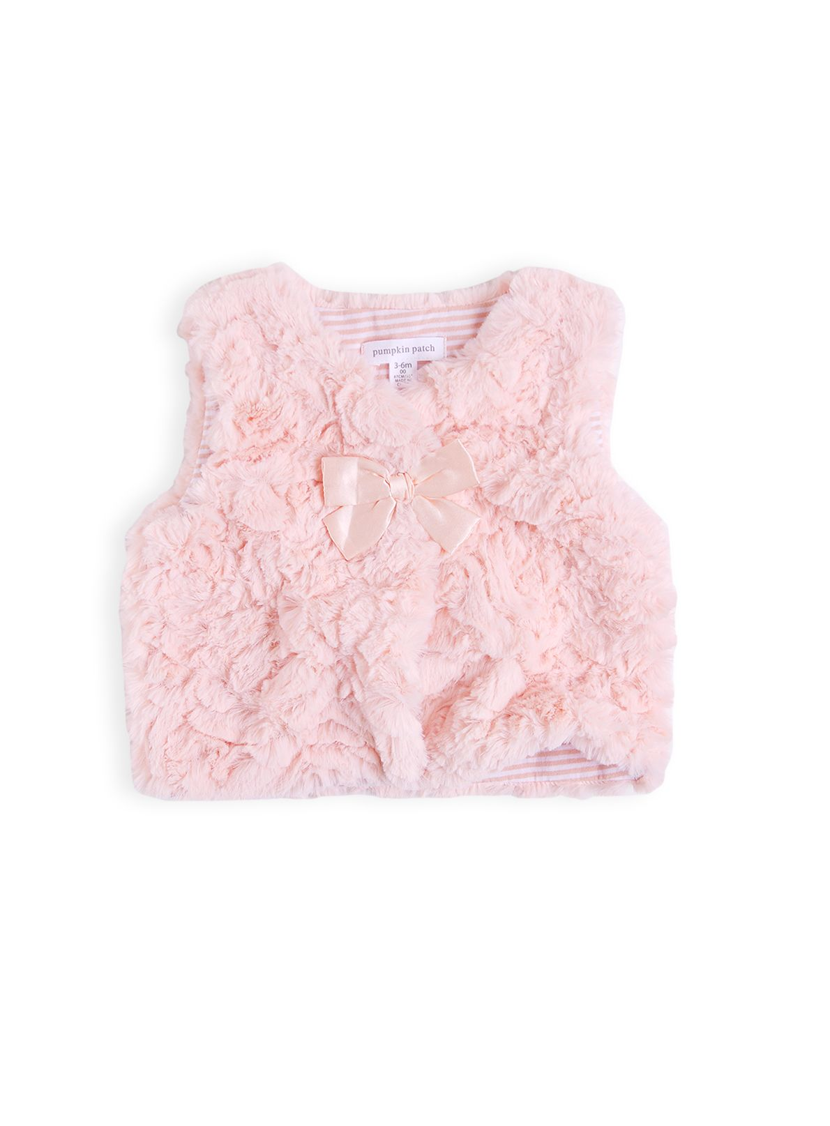 Girls fluffy gillet