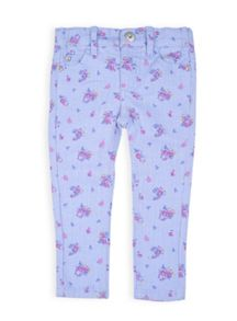 Girls mini floral jean