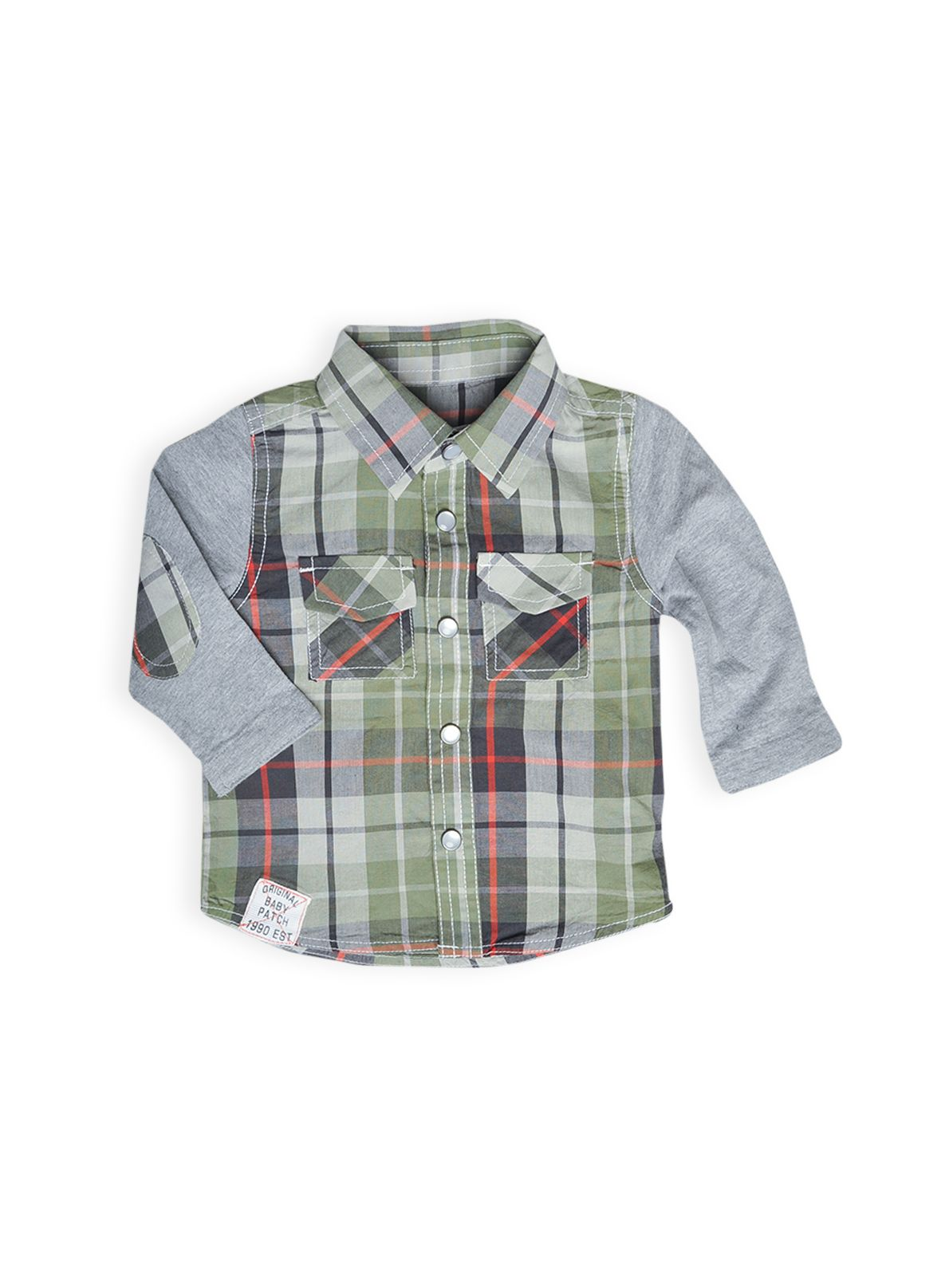 Boys knit sleeve shirt