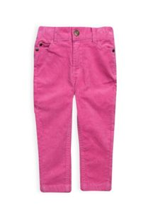 Girls stretch cord skinny jeans