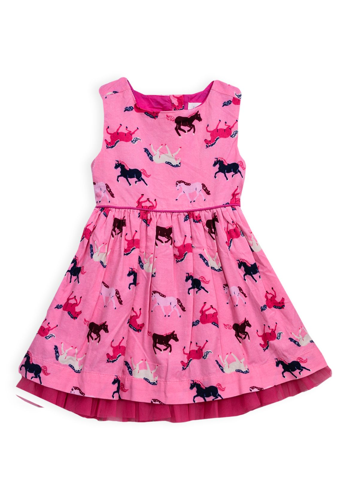 Girls pony print dress