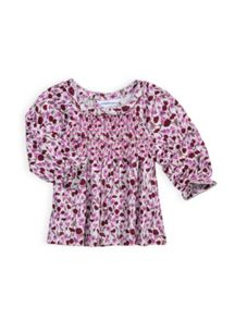 Baby girls liberty floral top
