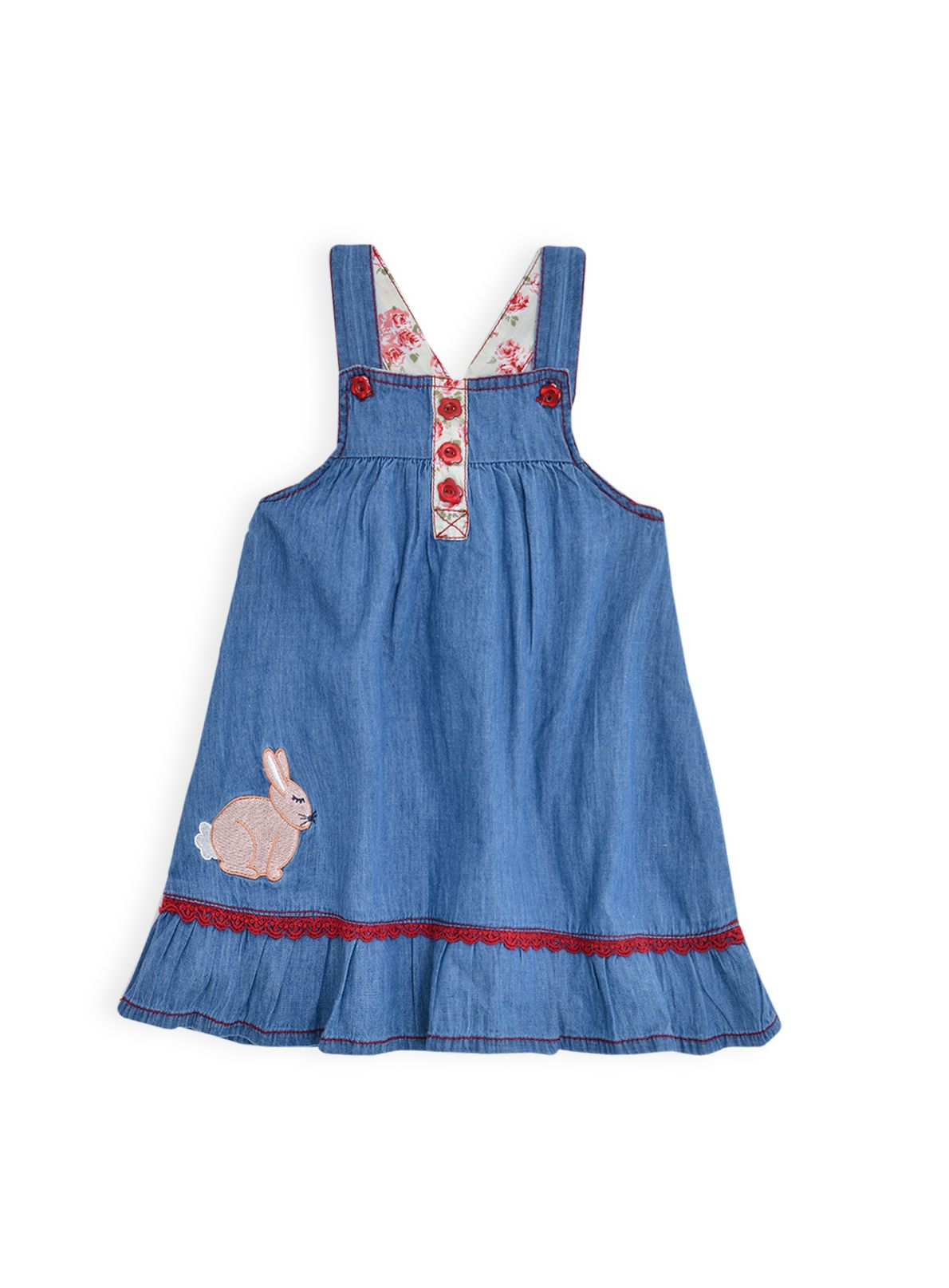 Girls chambray pinnie