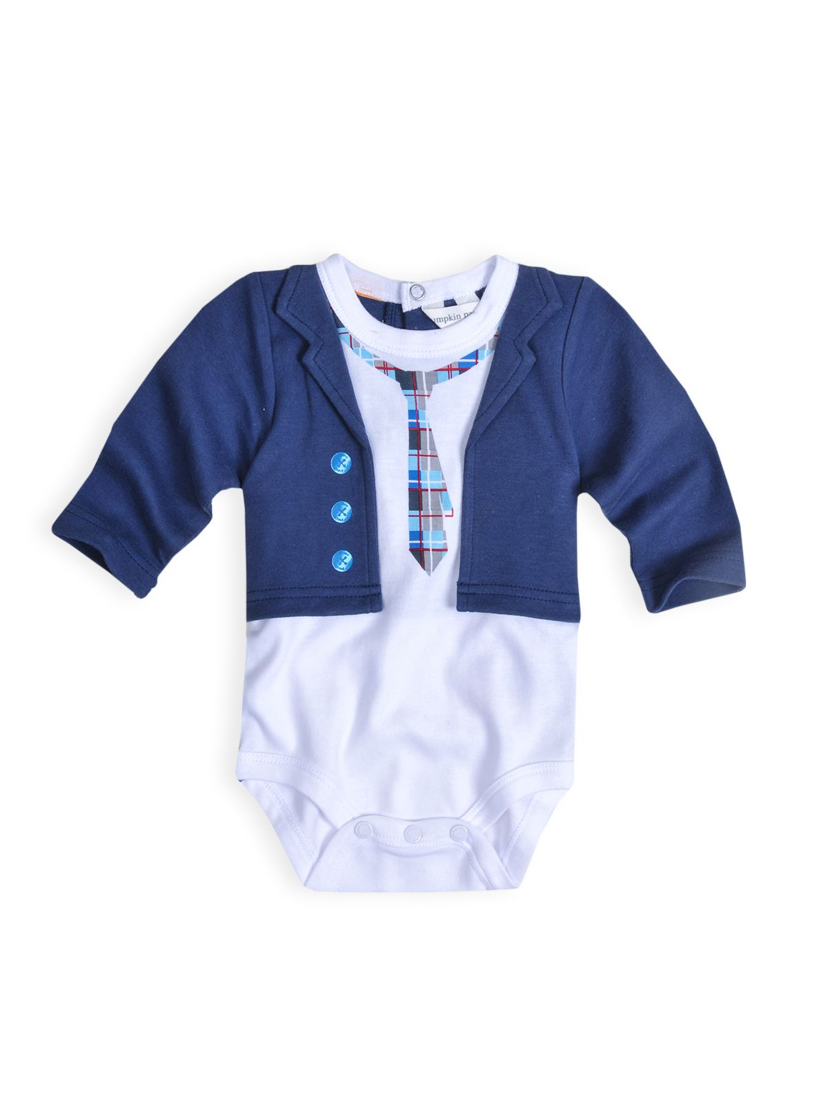 Boys printed suit bodysuit