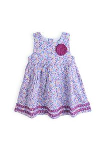 Girls mini floral dress