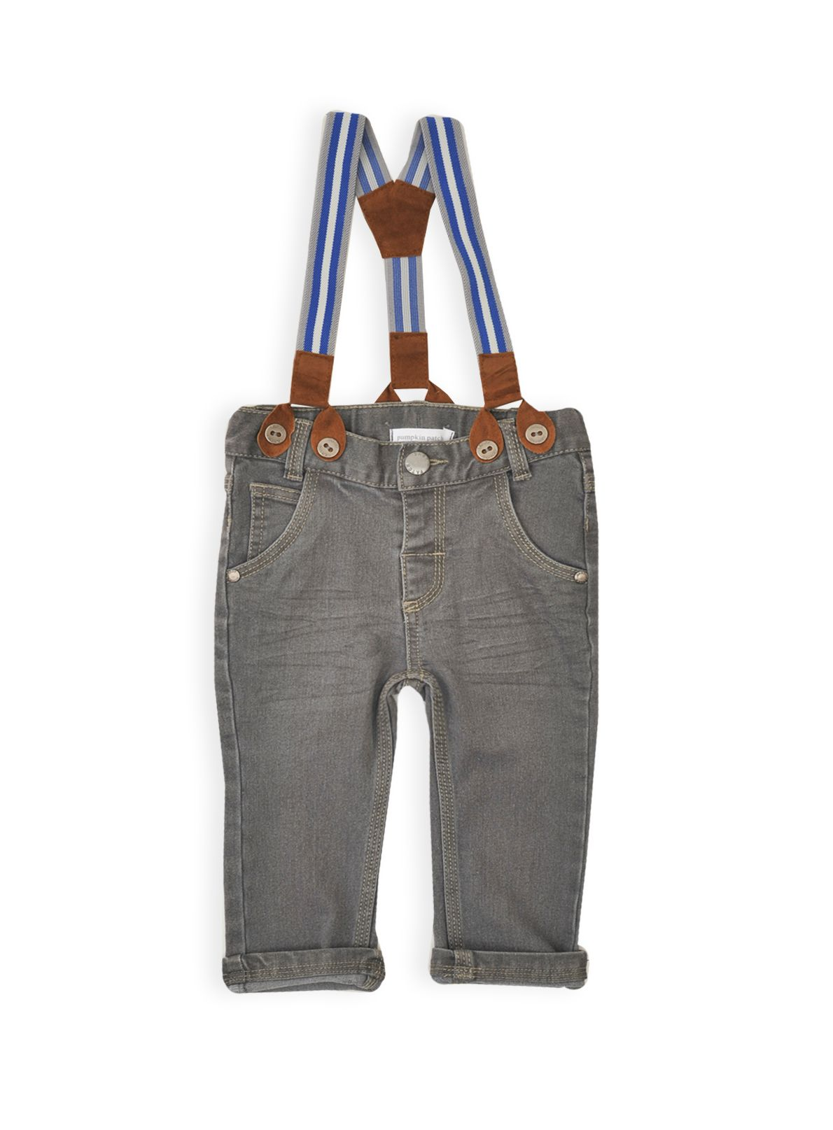 Baby boys jeans with braces