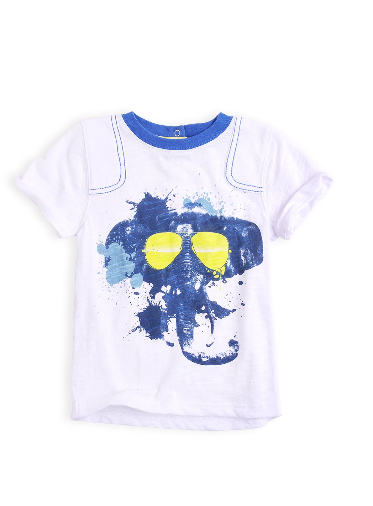 Boys elephant  print t-shirt