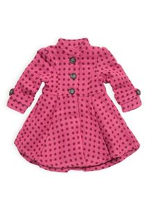 Girls spot coat