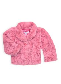 Girls fur jacket