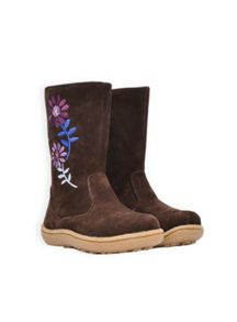 Girls daisy suede boot